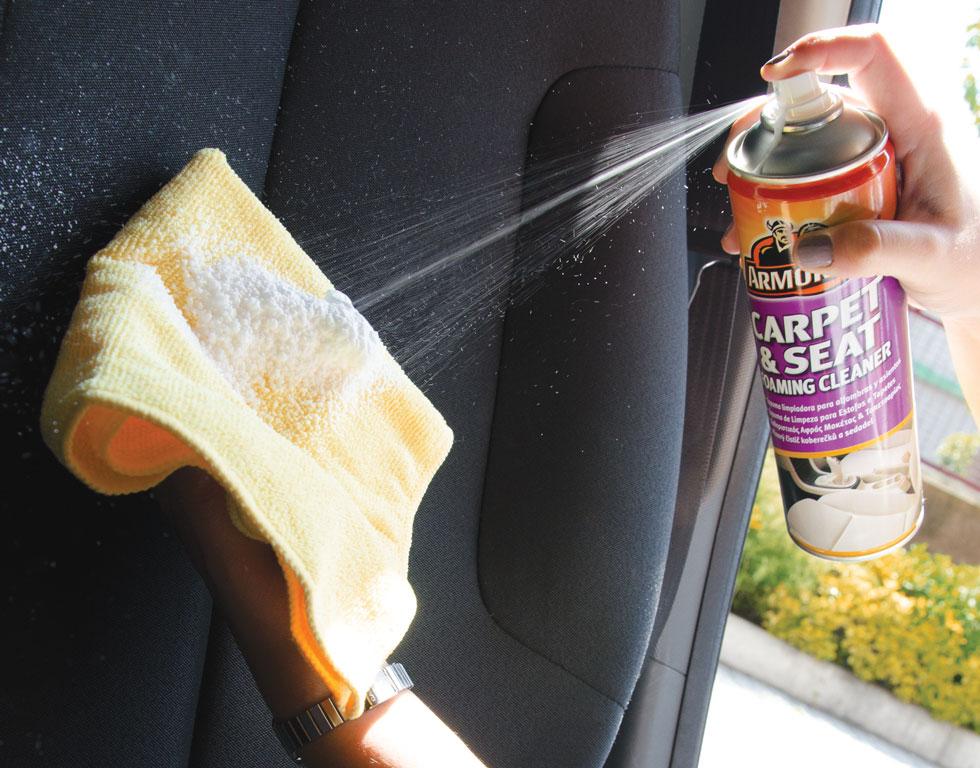C mo limpiar la tapicer a de un coche blog accesorios for Como limpiar asientos de cuero