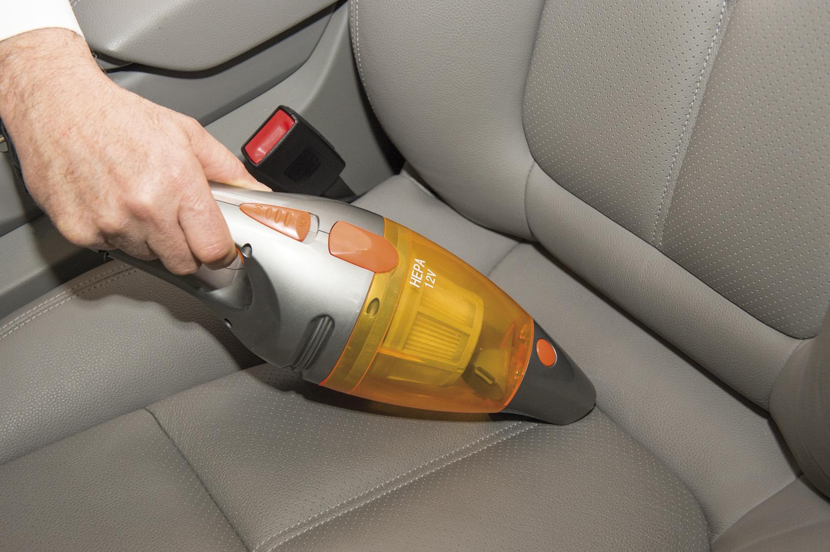 Limpieza interior coche